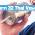 How to learn 32 Thai Vowels