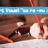 Learn How to Use Short Vowel สระ -ึ [sa(L) ra(L) eu(L-short)]